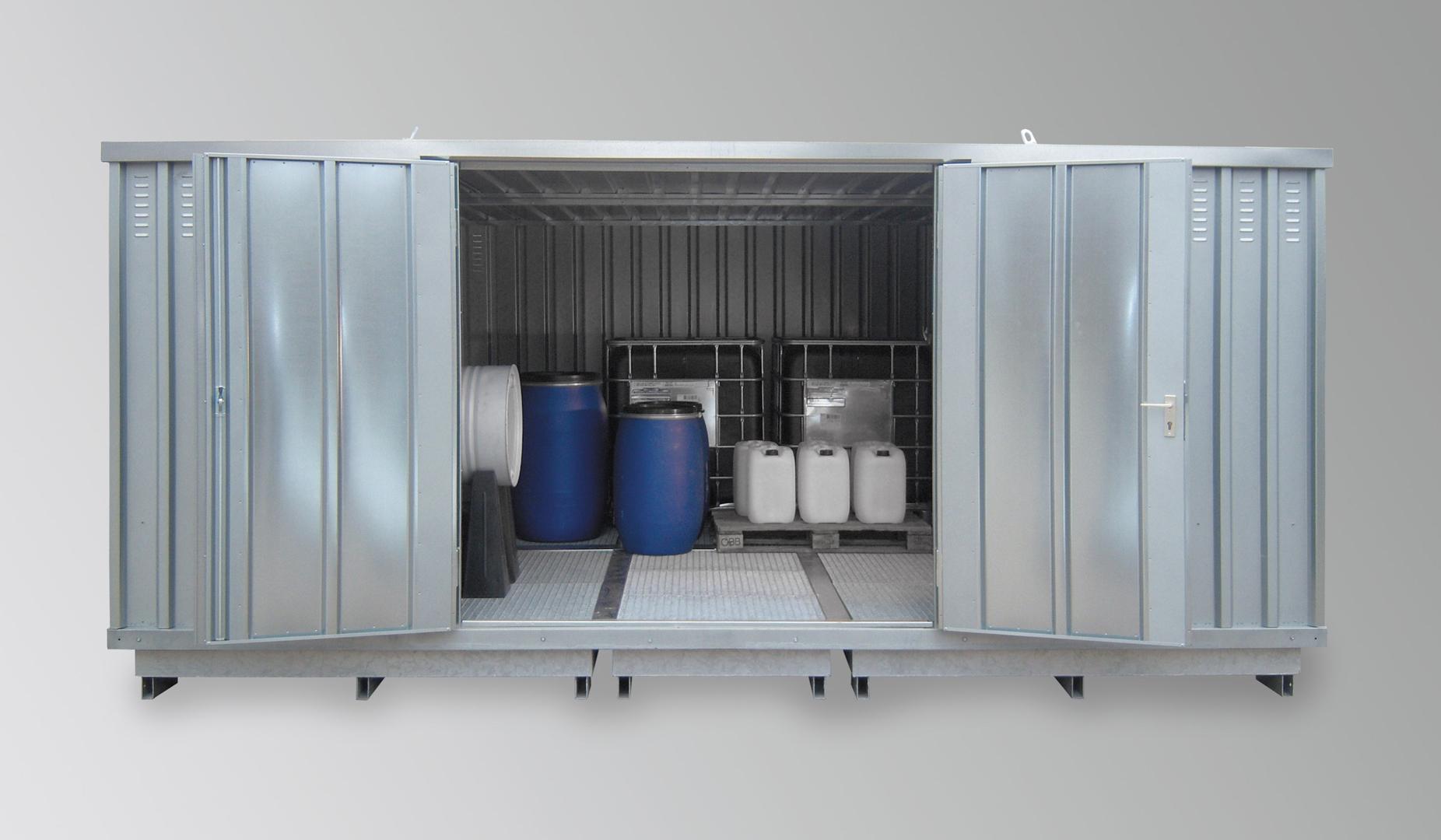 Wasserschutzcontainer